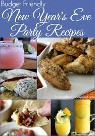 Dinner Ideas For New Years Eve Party New Year U0027s Eve Party Recipes Pocket Change Gourmet