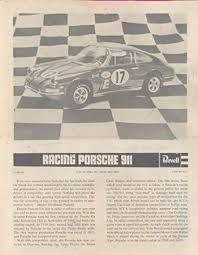 porsche 911 model kit buy 1971 porsche 911 revell race car model kit brochure in cheap