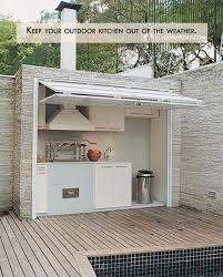 small outdoor kitchen ideas small outdoor kitchen robinsuites co