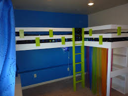 size bed amazing blue children bedroom design with double beds