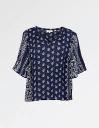paisley blouse woodblock paisley blouse shirts fatface com