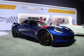perso car the l a auto show u0027s featured corvettes corvetteforum