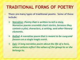what makes a poem ppt