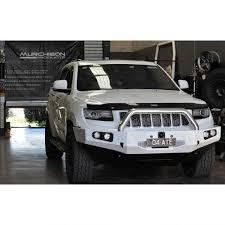 jeep grand cherokee light bar uneek 4x4 wk2 grand cherokee steel winch bull bar murchison