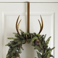 antler wreath hanger ballard designs