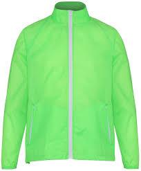 showerproof cycling jacket mens 2786 contrast fold away shower proof lightweight jacket top
