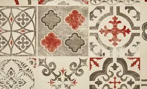 Tapis Couloir Saint Maclou by Sol Vinyle Exclusive 240 Carreau Ciment Rouge Rouleau 4 M