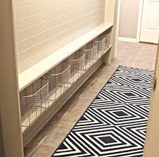 Laundry Room And Mudroom Design Ideas - narrow hallway built in diy mudroom
