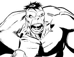 hulk colouring pages 14819 bestofcoloring