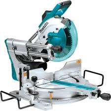 makita 15 amp 10 in dual bevel sliding compound miter saw with