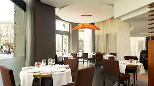 Bossanova Contemporary Leather Dining Room Luxury Bars And Restaurants In Barcelona Le Meridien Barcelona