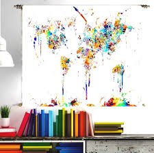 Amazon World Map by World Map Tapestry Urban Outfitters Amazon Com Wall Hanging Large