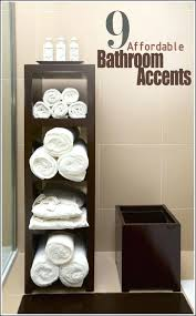Towel Storage Small Bathroom Bathroom Towels Ideas Bathroom Towel Storage Ideas Pinterest