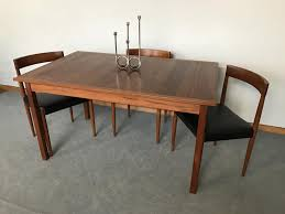 vintage scandinavian teak dining table by nils jonsson for sale at