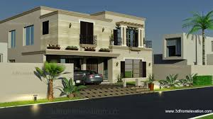 Home Design Architecture Pakistan by 3d Front Elevation Com 1 Kanal Spanish House Design Plan Dha