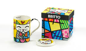 mona cat largest britto online seller pop art u0026 collectibles artreco