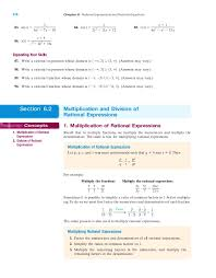 rational expressions and rational equations