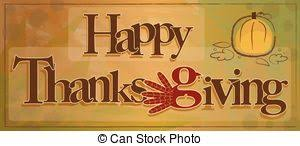 thanksgiving sign happy thanksgiving sign with turkey and autumn vector