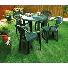 Green Plastic Patio Chairs Marvelous Green Plastic Garden Table And Chair Styles Pvc Patio