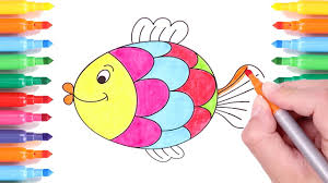 coloring pages fish l drawing pages to color for kids learn how