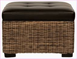 Wicker Storage Bench Inspiring Outdoor Storage Ottoman Bench With Adorable Wicker