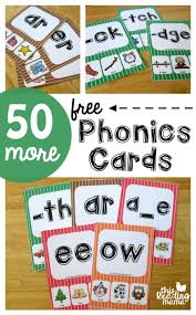 50 more phonics cards free phonics cards vowel digraphs and