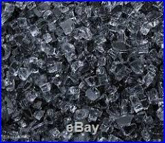 Fire Pit Crystals by Gas Fireplace Logs Gray