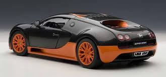 bugatti veyron supersport autoart bugatti veyron super sport carbon blackorange side skirts