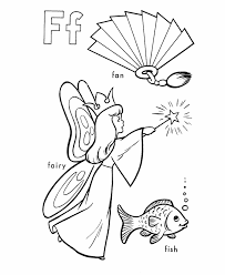 abc alphabet coloring sheets fan fairy honkingdonkey