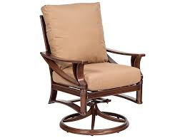 furniture low cost cast iron swivel rocker chair for patio