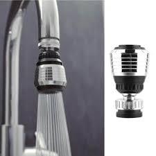 aerateur de cuisine 360 rotation pivotant robinet buse filtre adaptateur d économie d
