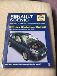 haynes renault scenic workshop manual in kilmarnock east