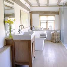 bathroom interesting cottage bathroom with beams ideas cottage