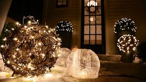 christmas outdoor decorations outdoor christmas lighting surprising ways to decorate