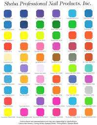 paint colors chart real fitness