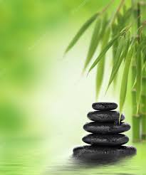 zen design tranquil zen design with stacked stones and bamboo u2014 stock photo