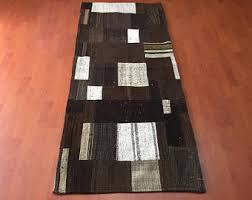 Organic Wool Rug Patchwork Kilim Rug Etsy