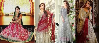 pakistani designer bridal dresses by maria b brides collection 2017