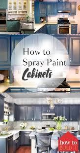 Kitchen Cabinet Updates How To Spray Paint Cabinets Spray Paint Cabinets Paint Cabinets