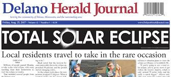 Minnesota travel journals images Delano herald journal eclipse image rogers photography jpg