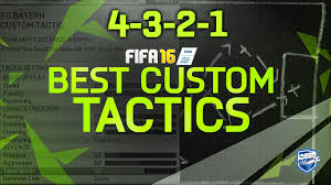 Best Counter Fifa 16 Best Counter Attack Formation 4 3 2 1 Best Custom