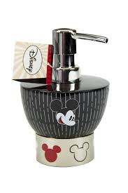 disney mickey tuxedo resin lotion pump disney for the home