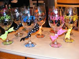 how to personalize a wine glass personalized decorated wine glasses 20 oz 10 00 usd via etsy