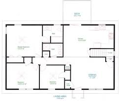 Apartment Blueprints Apartments Simple Open Plan House Designs One Bedroom House