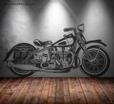 motorcycle wall decor image collections home wall decoration ideas