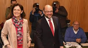 The Social Cast Sdp U0027s Candidate For Chancellor Martin Schulz Casts Vote In