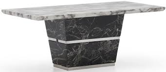 black marble coffee table buy vida living valdina white and black marble coffee table online
