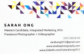 what to put on your business card if you u0027re a student or recent
