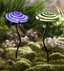 Glow In The Dark Gazing Ball Glow In The Dark Mushroom Garden Stake Wind U0026 Weather