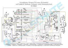 wiring harness vespa px arcobaleno swiss main